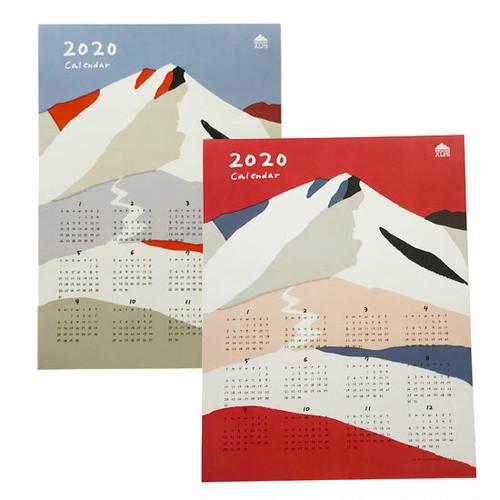 HIGASHI ALPS(ヒガシアルプス)山のカレンダー