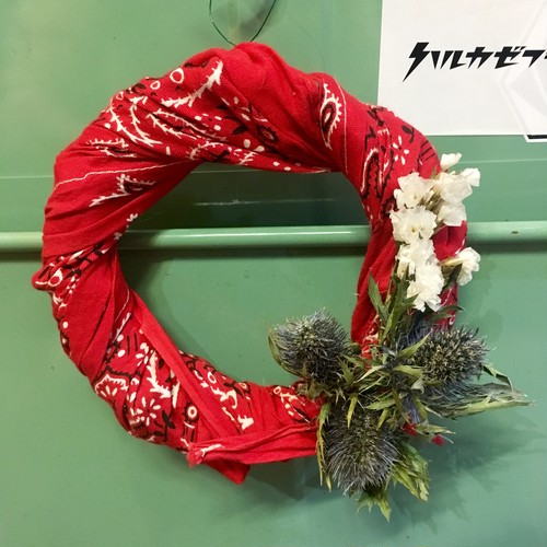 USA bandanna Wreath