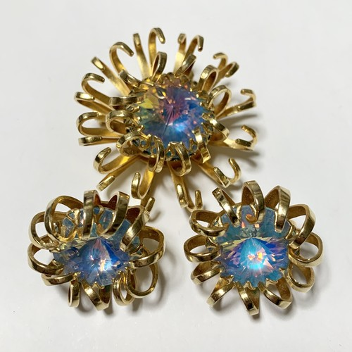 Vintage Sarah Coventry Earrings & Brooch