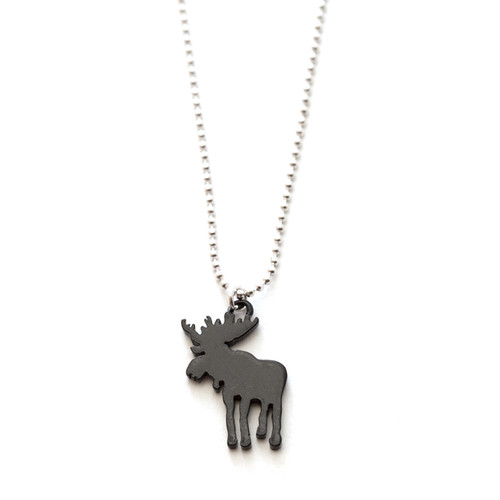 Safari Necklace - Moose Monotone