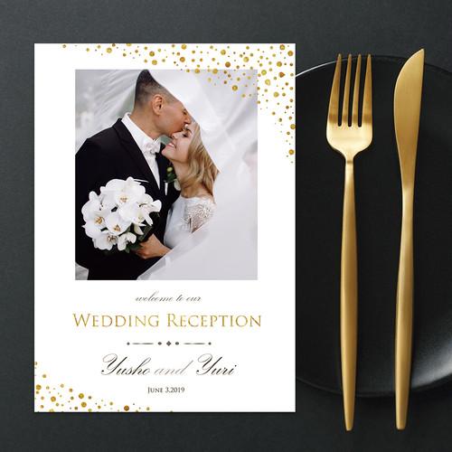 PB21【サンプル】結婚式プロフィールブック