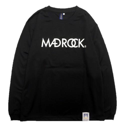 【再入荷】マッドロック / ロゴ ロンT / ドライタイプ / ブラック&ホワイト