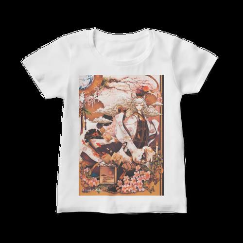 オリジナルレディースTシャツ【桜乃箱庭 〜光〜 】 / yuki*Mami