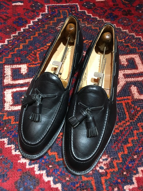 .UNION WORKS LEATHER TUSSEL LOAFER MADE IN ENGLAND/ユニオンワークスレザータッセルローファー 2000000030760