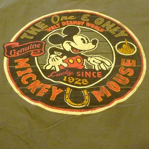DISNEY PARKS ミッキーマウス Tシャツ ★【クリックポスト利用で送料無料】