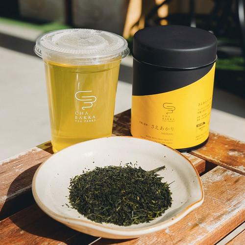 さえあかり - 浅蒸し煎茶 - 茶缶30g/5個ティーバッグ
