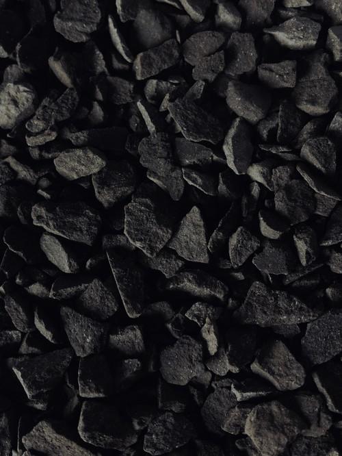瓦化粧石 黒燻M