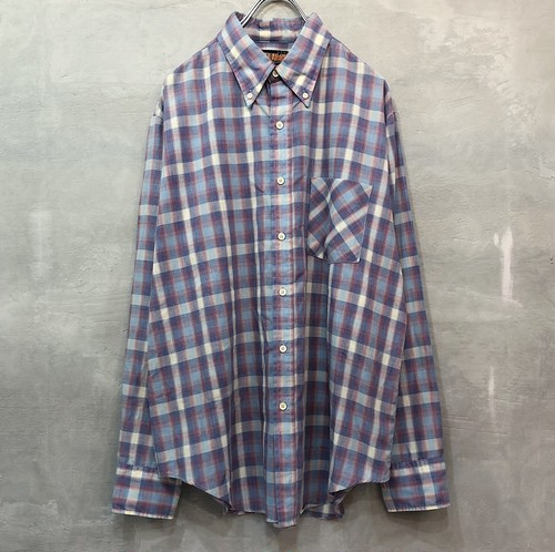 plaid shirt L/S #841