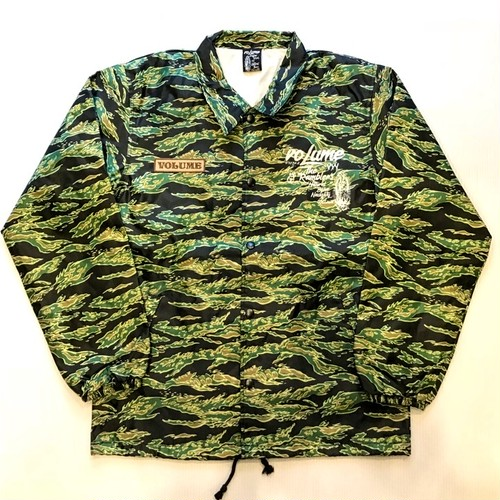 VOLUME ORIGINAL / CAMO COACH JACKET