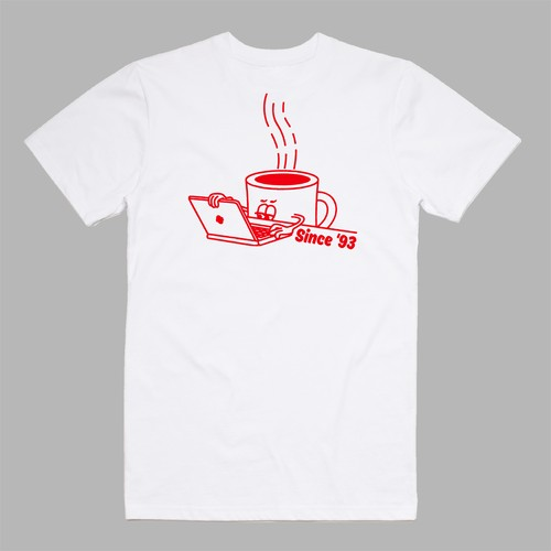 MAX BLACKMORE x COFFEE SUPREME T-shirts Type1