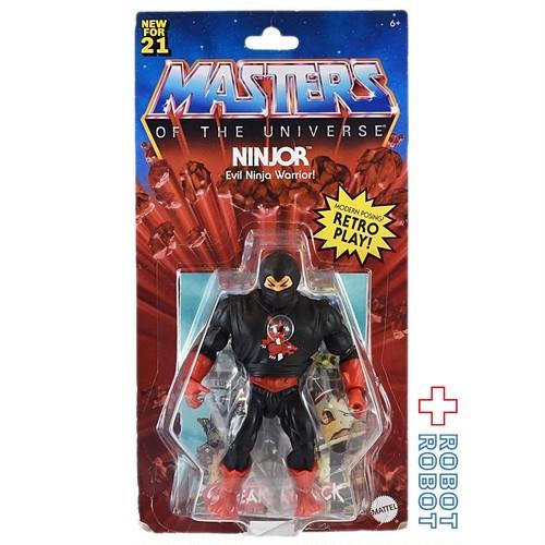 マテル MOTU マスターズ・オブ・ザ・ユニバース オリジンズ 5.5インチ ニンジャー アクションフィギュア