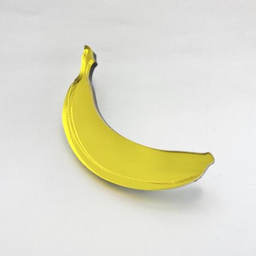 バナナ ブローチ