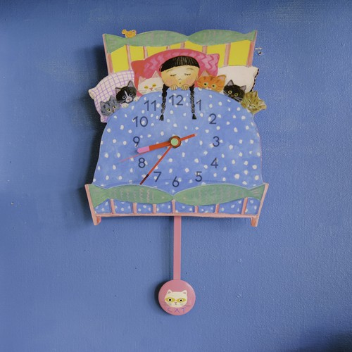 Packet bed CLOCK (振り子時計) 振り子PINK XPINK