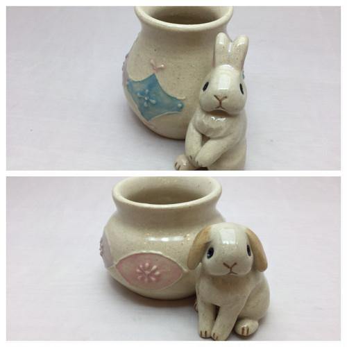 うさぎ'N本舗 ミニ花器(花瓶)