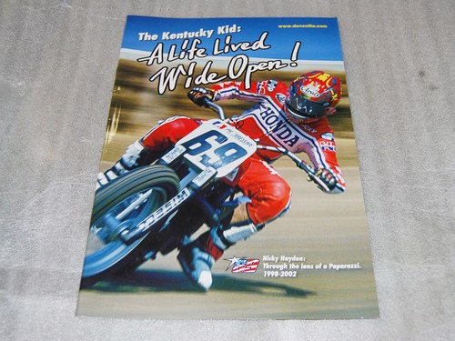 "Nicky Hayden Photo Book by Shogo ""TEPPEI"" Nakao"