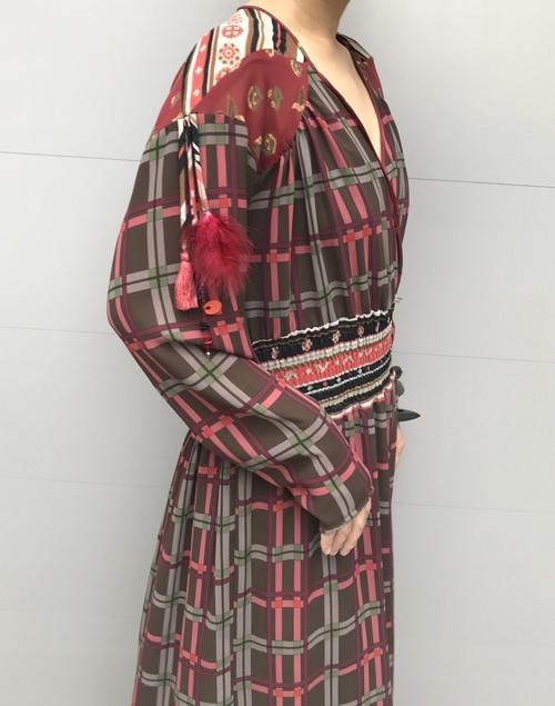 70s Diane freis plaid Dress