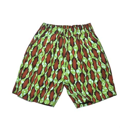never again / short pants Green