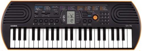 CASIO ( カシオ ) / SA-76 ミニキーボード 44鍵