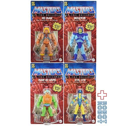 マテル MOTU マスターズ・オブ・ザ・ユニバース オリジンズ 5.5インチ アクションフィギュア 4種セット