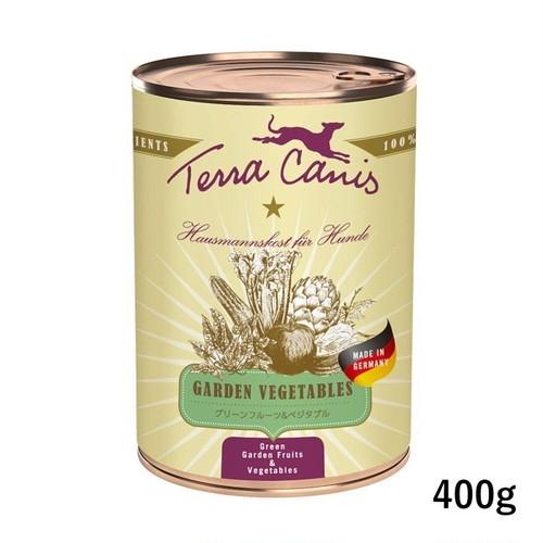 テラカニス【ガーデンベジタブル犬用一般食】 グリーンフルーツ&ベジタブル 400gトッピングにおすすめ
