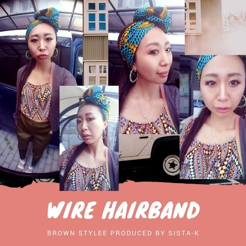 wire hairband middle