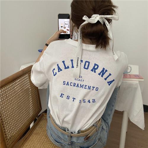 バックプリントTシャツ RD7993