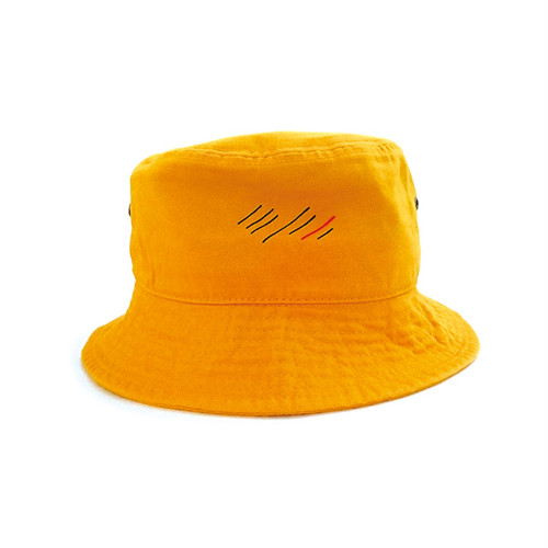 scar ///////  BLOOD BUCKET HAT (Yellow)