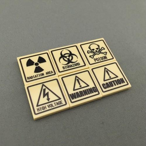 LEGO レゴ 警告ブロックセット ベージュ