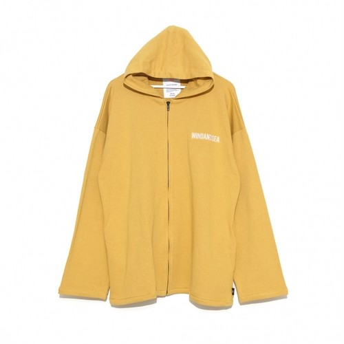 SEA BIG ZIP HOODIE YELLOW (WDS-19A-SW-09)