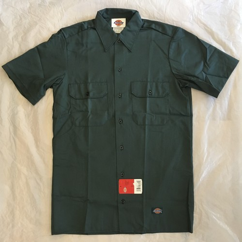 "Dickies SHORT SLEEVE WORK SHIRT-LN ""Made in USA""<Deadstock>"