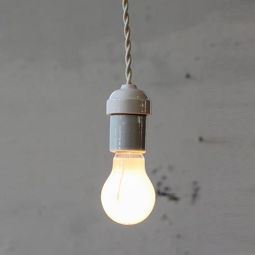 Socket Lamp Wh Mini|白磁ソケット