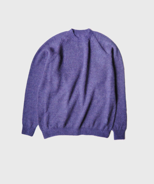 crepuscule exclusive mohair knit PURPLE