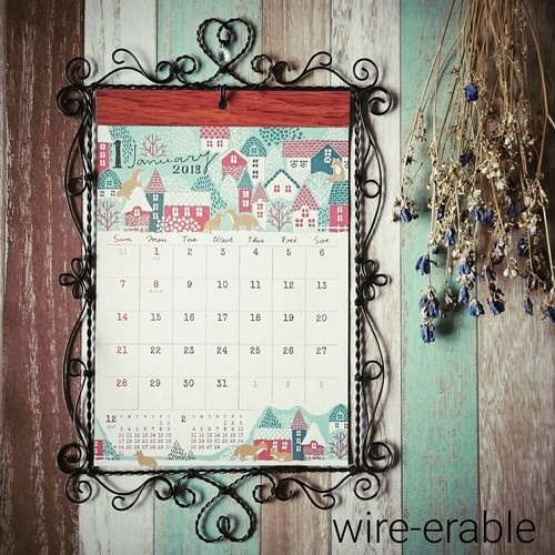 calendar frame(カレンダー付)