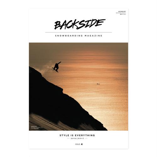 BACKSIDE MAGAZINE ISSUE 4~6セット
