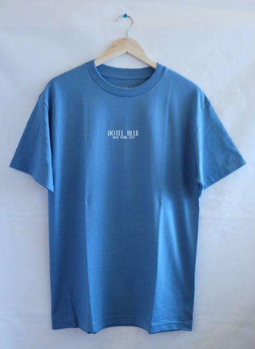HOTEL BLUE LOGO S/S TEE  SLATE ホテルブルー Tシャツ