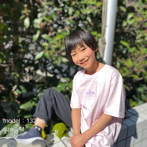 admロゴTシャツ 2020SS LIGHT PINK