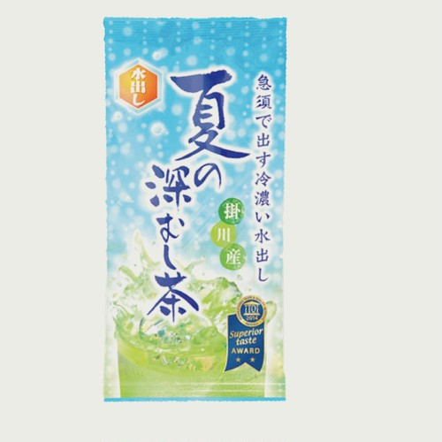 【夏の深むし茶】掛川産 水出し専用茶葉