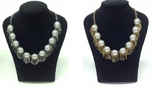 Pearl x Metal Tassel NC(HN7797)