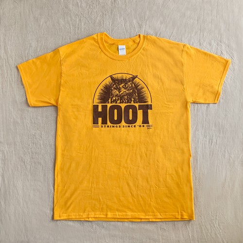 """OWL"" Tee(Yellow)"