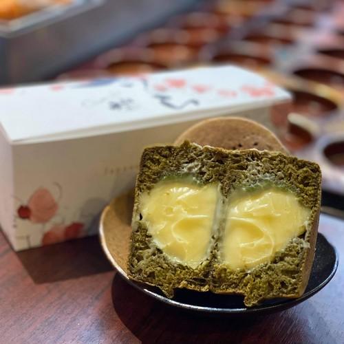 抹茶大判焼き(クリーム)
