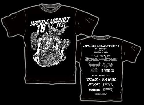 JAPANESE ASSAULT FEST 18 限定Tシャツ