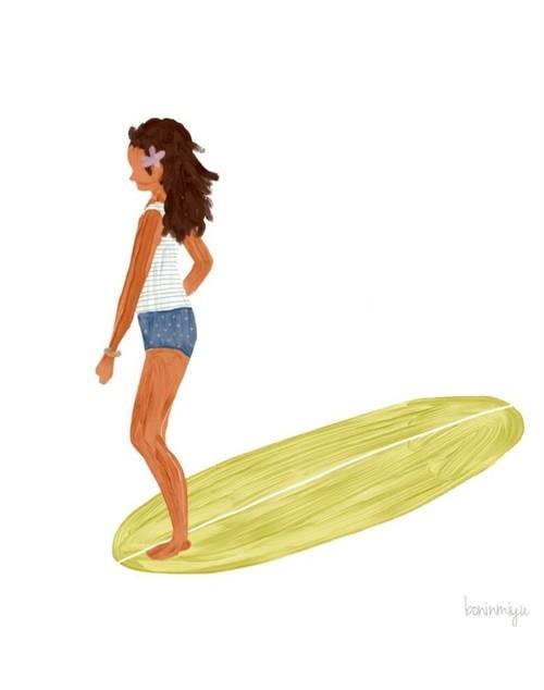 [bonin miyu] SURF KIDS