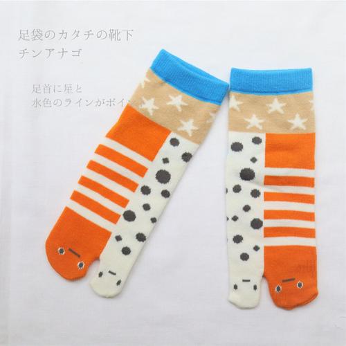 【靴下】足袋かたちの靴下 チンアナゴ / 23~25cm
