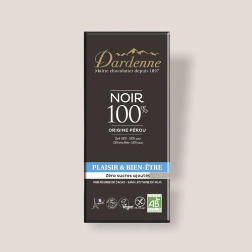 【冬季限定】ダーデン 有機チョコレート ダークカカオ 100%