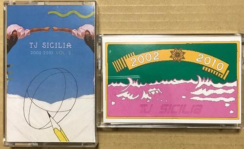 """TJ Sicilia """" 2002-2010 Vol. 1 """" + """"2002-2010 Vol. 2"""" 2テープセット"""