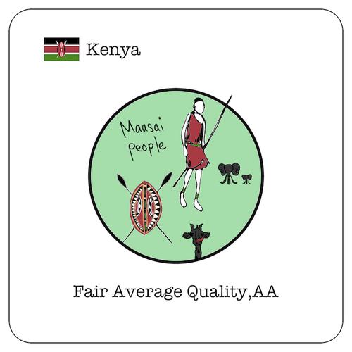 ケニア FAQ / 100g