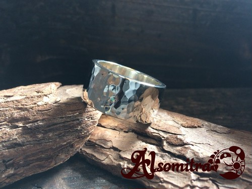 Hammered Ring(XL) - 鎚目模様リング(XL)
