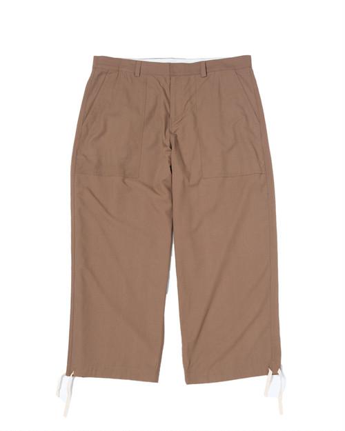 """NEW"" Big Army Pants / BROWN"