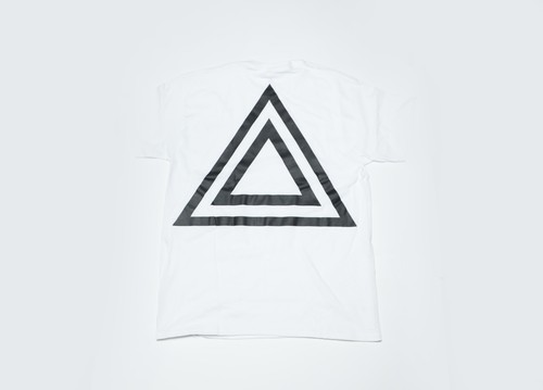 SUNKAK LIMITED ONE POCKET TEE WHITE