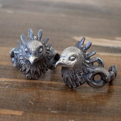 ヘビクイワシのリング